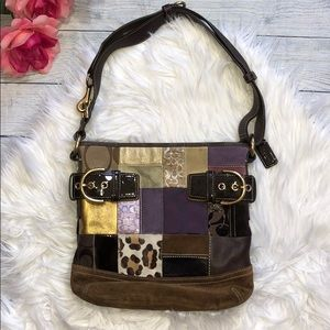 Coach Patterned Patchwork Limited Edition Bag